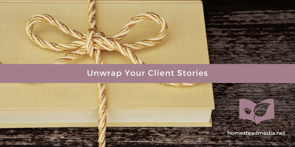 Case studies tell your client stories